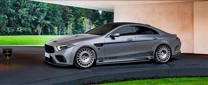 2019 Mercedes-AMG CLS53 Widebody Rendered with Rally-Spec ...