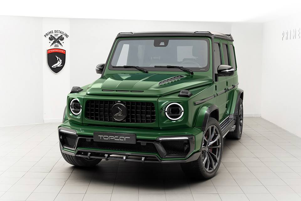 2019 Mercedes-AMG G63 Gets Carbon Fiber Aero Pack from Topcar