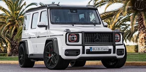 2019 Mercedes Amg G63 Gets The Slammed Carbon Look In Tuner
