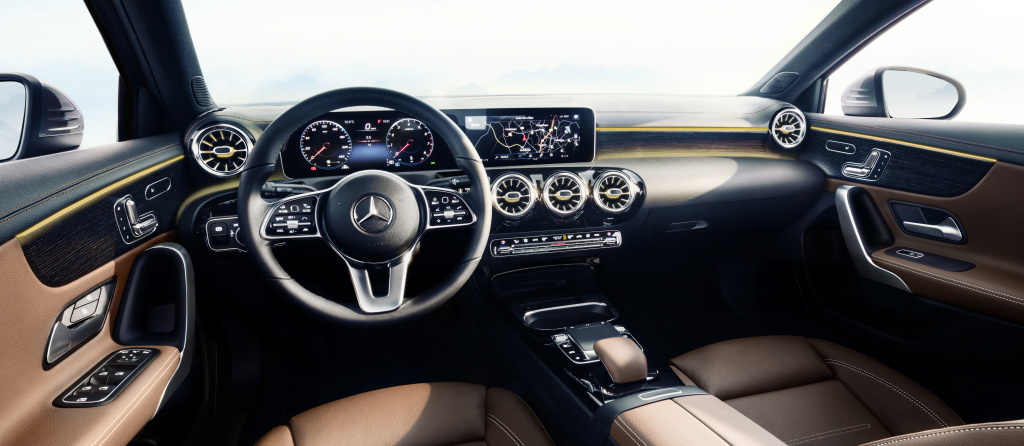 2018 Mercedes Benz A Class Interior Revealed It Ll Be Its Strong