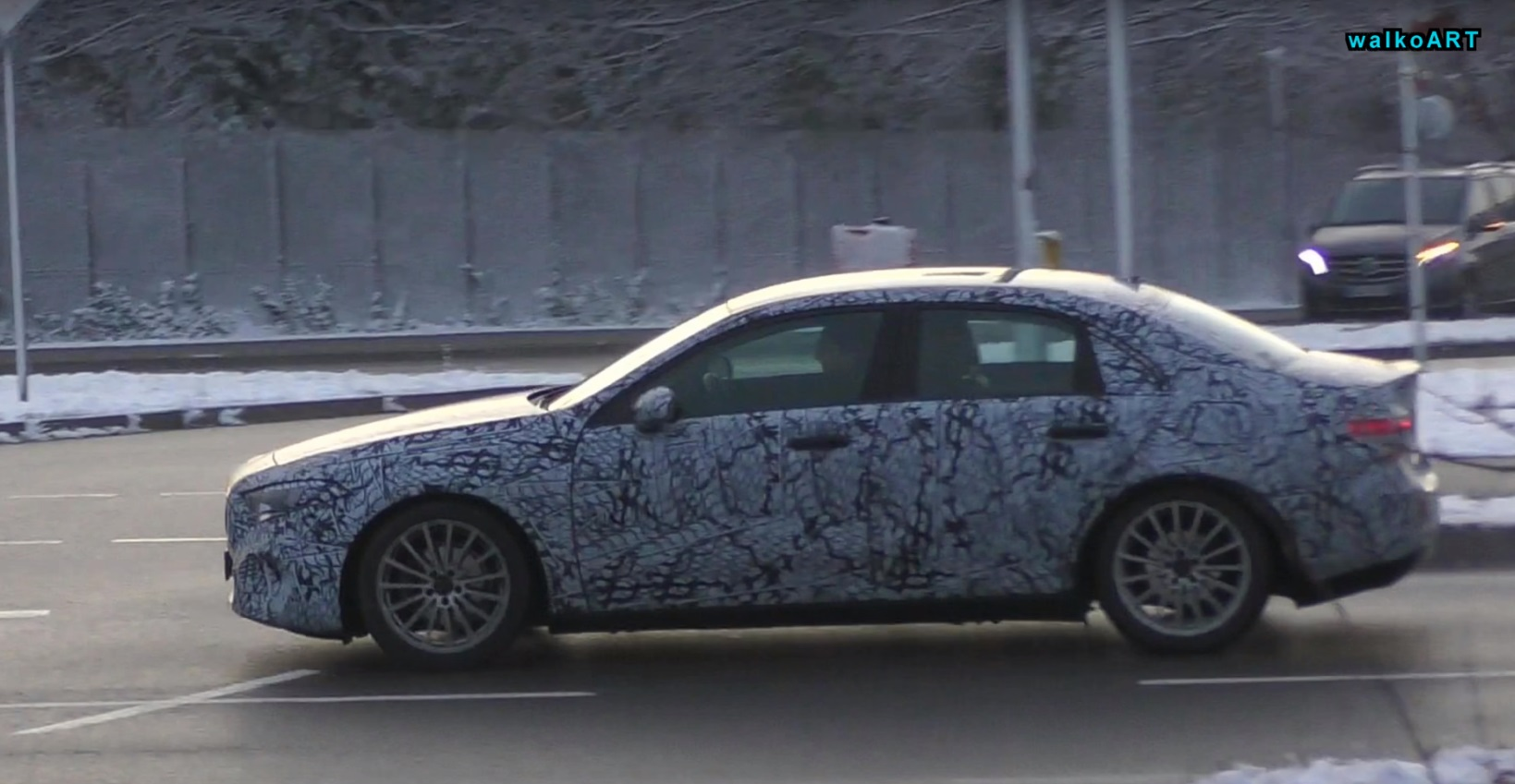 2019 Mercedes Benz A Class Sedan Still Shy Even After Hatchback