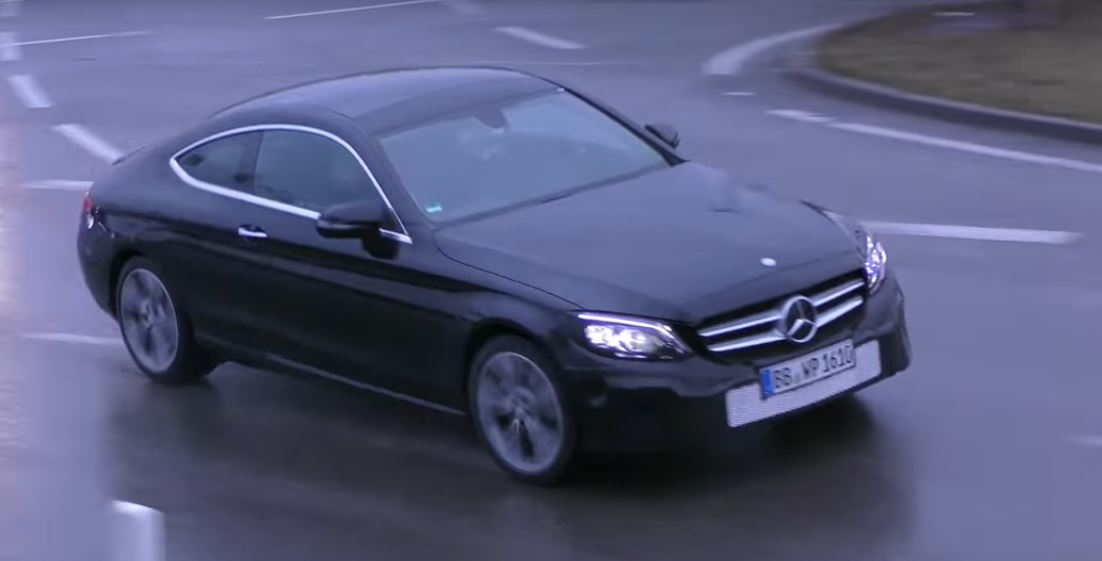 Mercedes C Class Coupe >> 2019 Mercedes Benz C Class Coupe Facelift Spied Getting