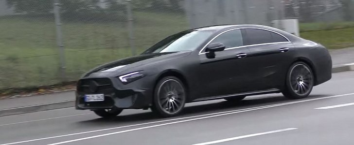 2019 mercedes benz cls cle prototype shows darth vader for Mercedes benz cle