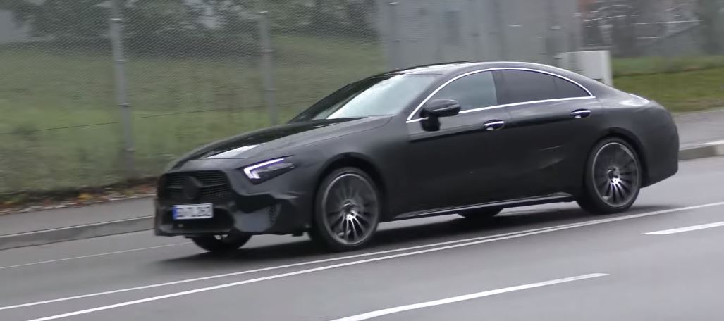 2019 Mercedes-Benz CLS/CLE Prototype Shows Darth Vader Face ahead of ...
