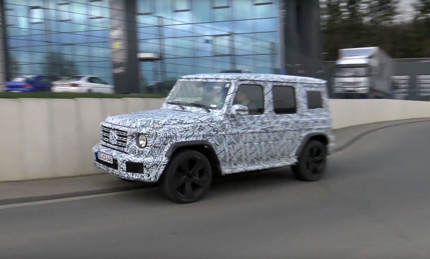 2019 Mercedes-Benz G-Class Technically Goes Off-Road Near