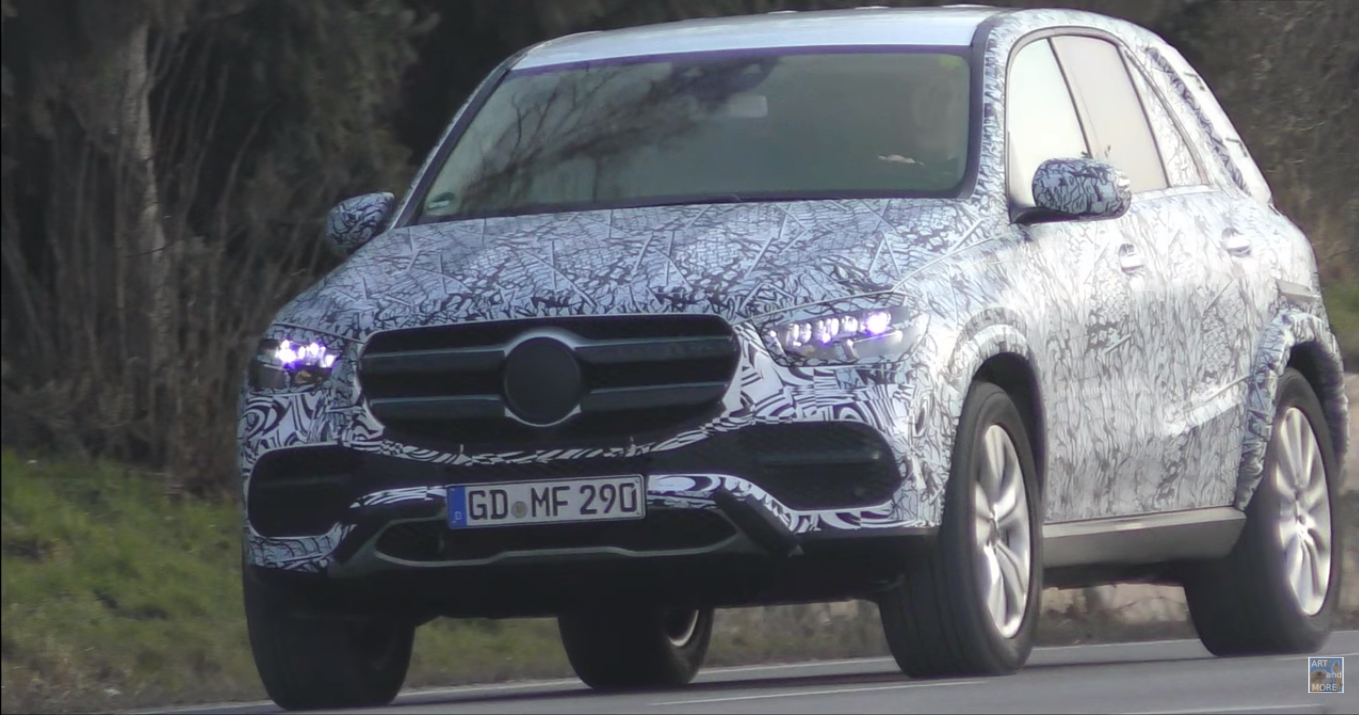 5 Photos 2019 Mercedes Benz Gle