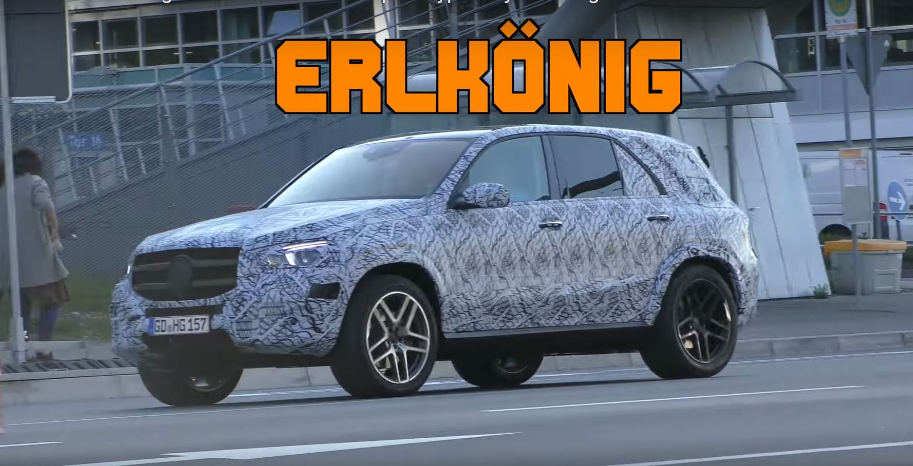 2019 mercedes gle class spied is starting to look like a for Mercedes benz range rover price