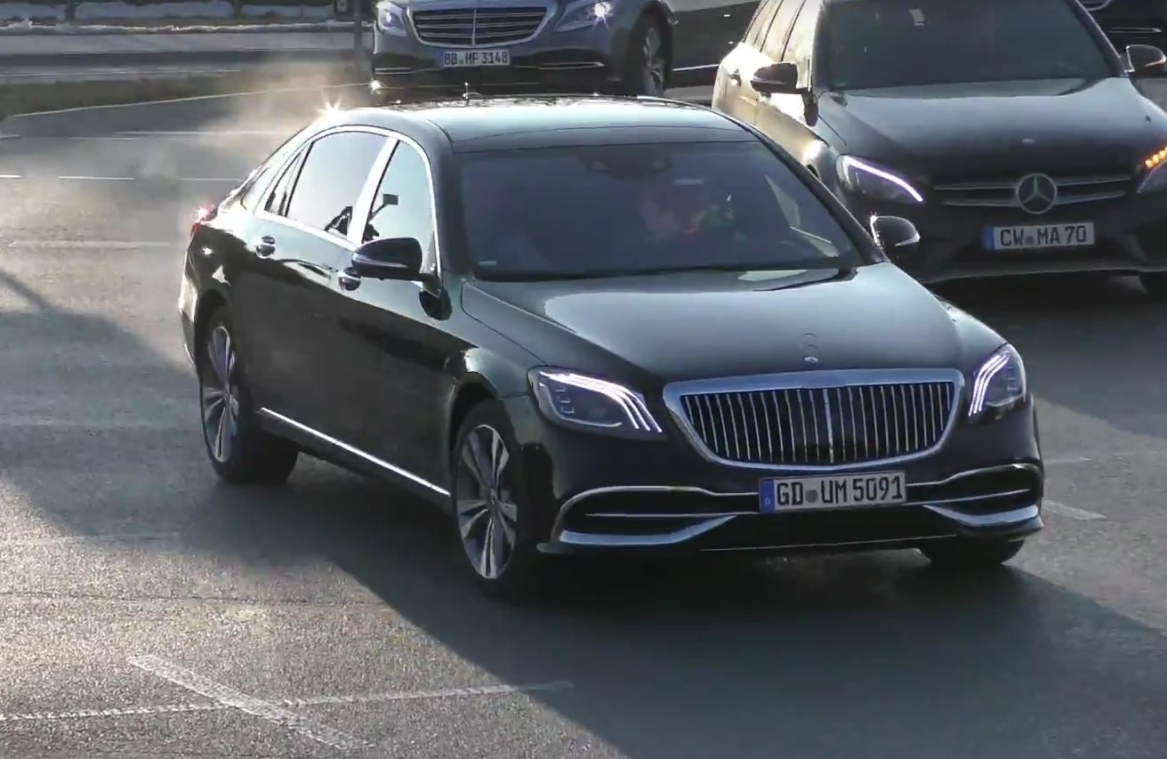 2019 Mercedes-Maybach S-Class Spotted in Germany, Looks Expensive ...