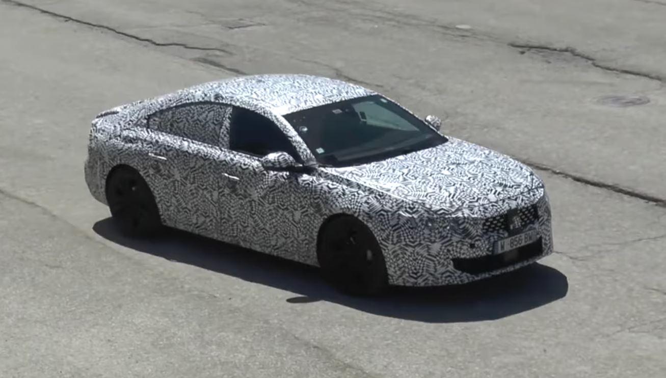 Audi Tt 2019 >> 2019 Peugeot 508 Looks Like a Stylish Sedan in Latest Spy Video - autoevolution