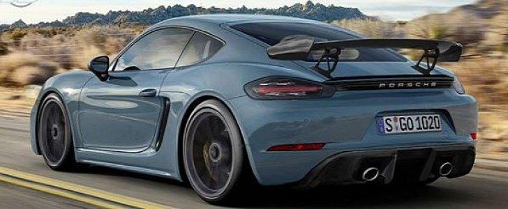 2018 Porsche Macan Facelift >> 2019 Porsche 718 Cayman GT4 PDK Rumors Are False - autoevolution