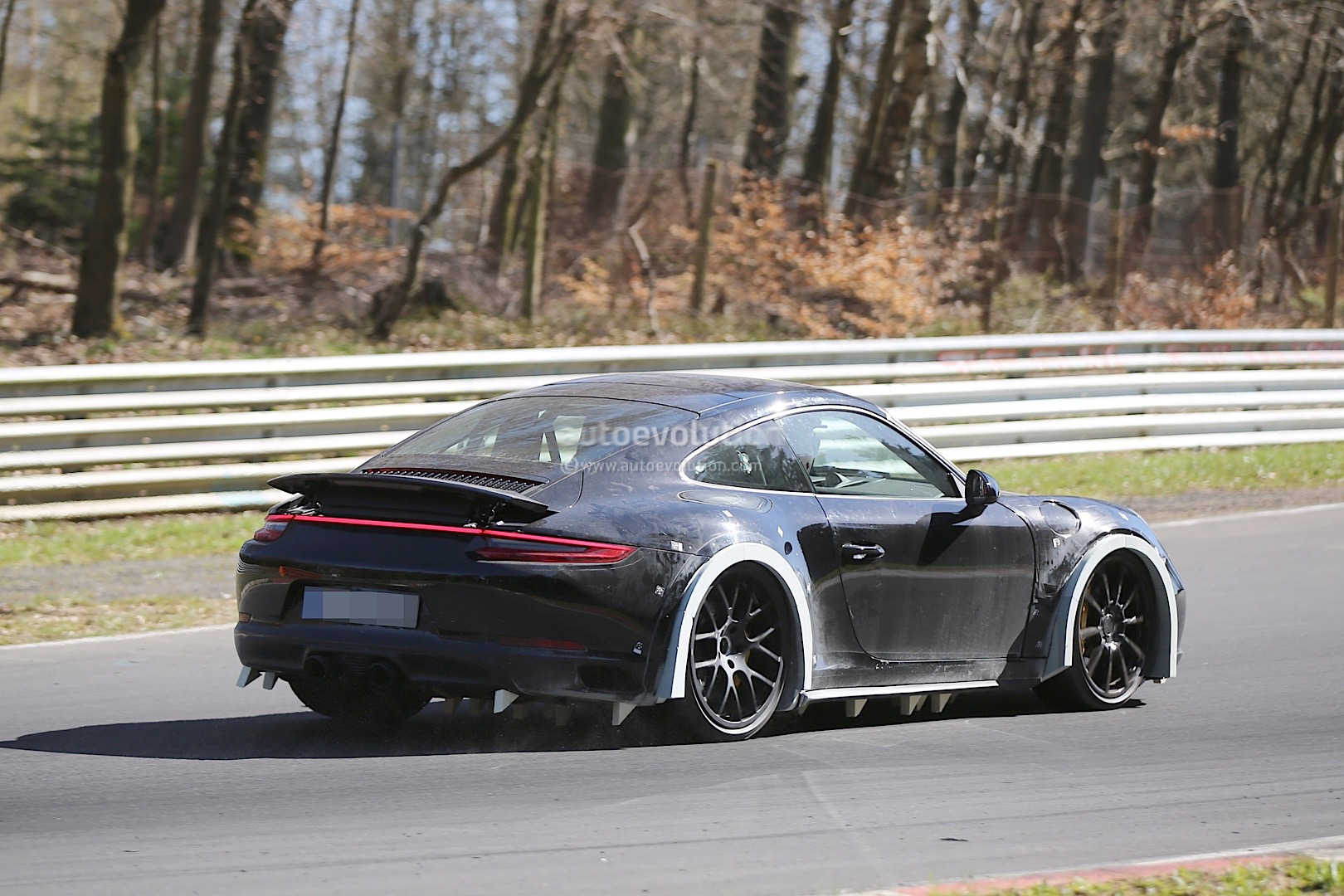2019 Porsche 911 Chassis Development Mule Spied On The