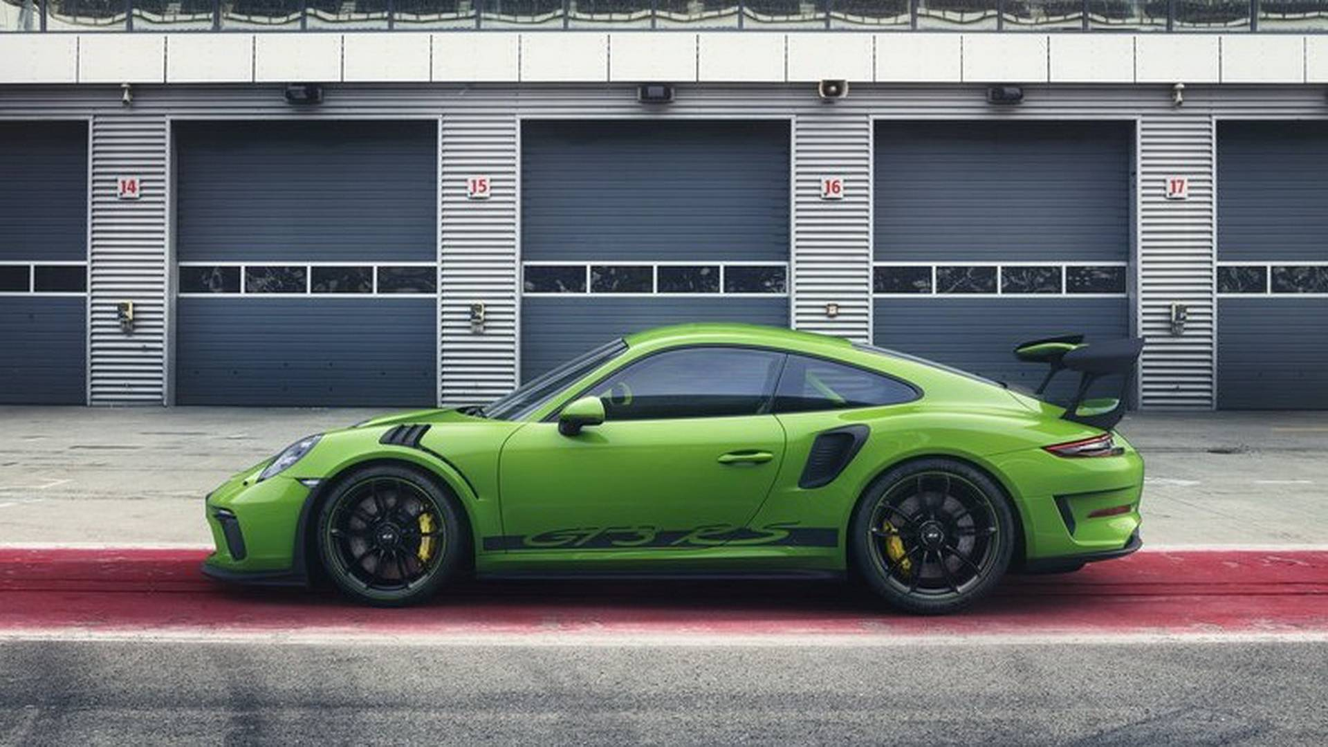 2019 Porsche 911 Gt3 Rs Facelift 991 2 Leaked Looks Great In