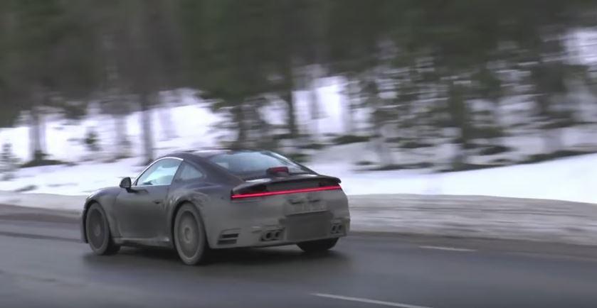 2019 Porsche 911 Sounds Vicious While Testing In Sweden