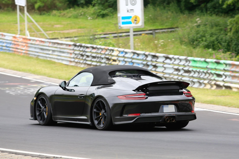 2019 Porsche 911 Speedster Prototype Reveals Production Design with ...