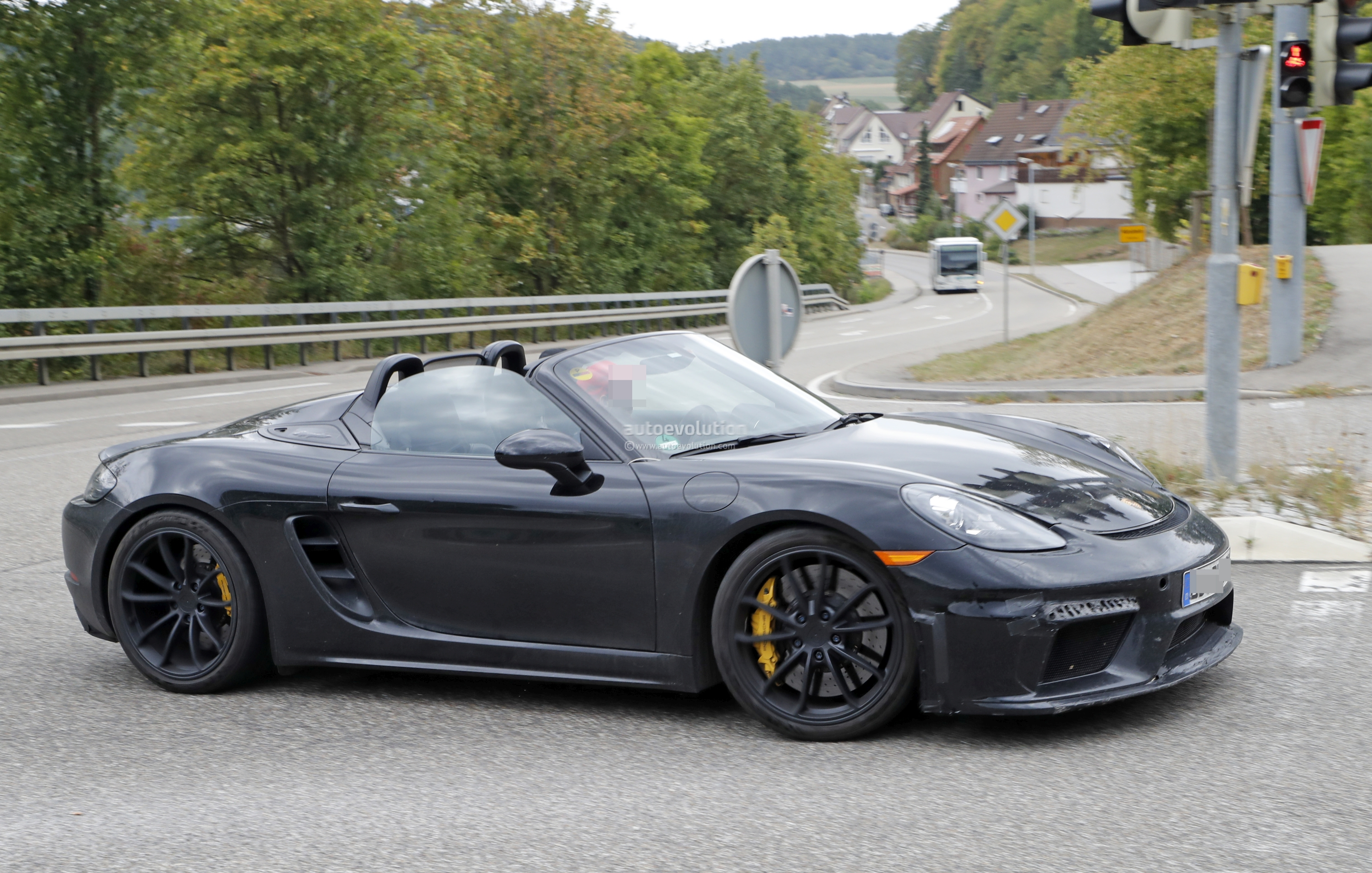 2019 Porsche Boxster Spyder Prototype Shows Production