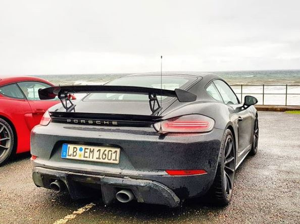 2019 porsche cayman gts 2019 Porsche 718 Cayman GT4 Spied Testing with Old GT4: Sounds  2019 porsche cayman gts