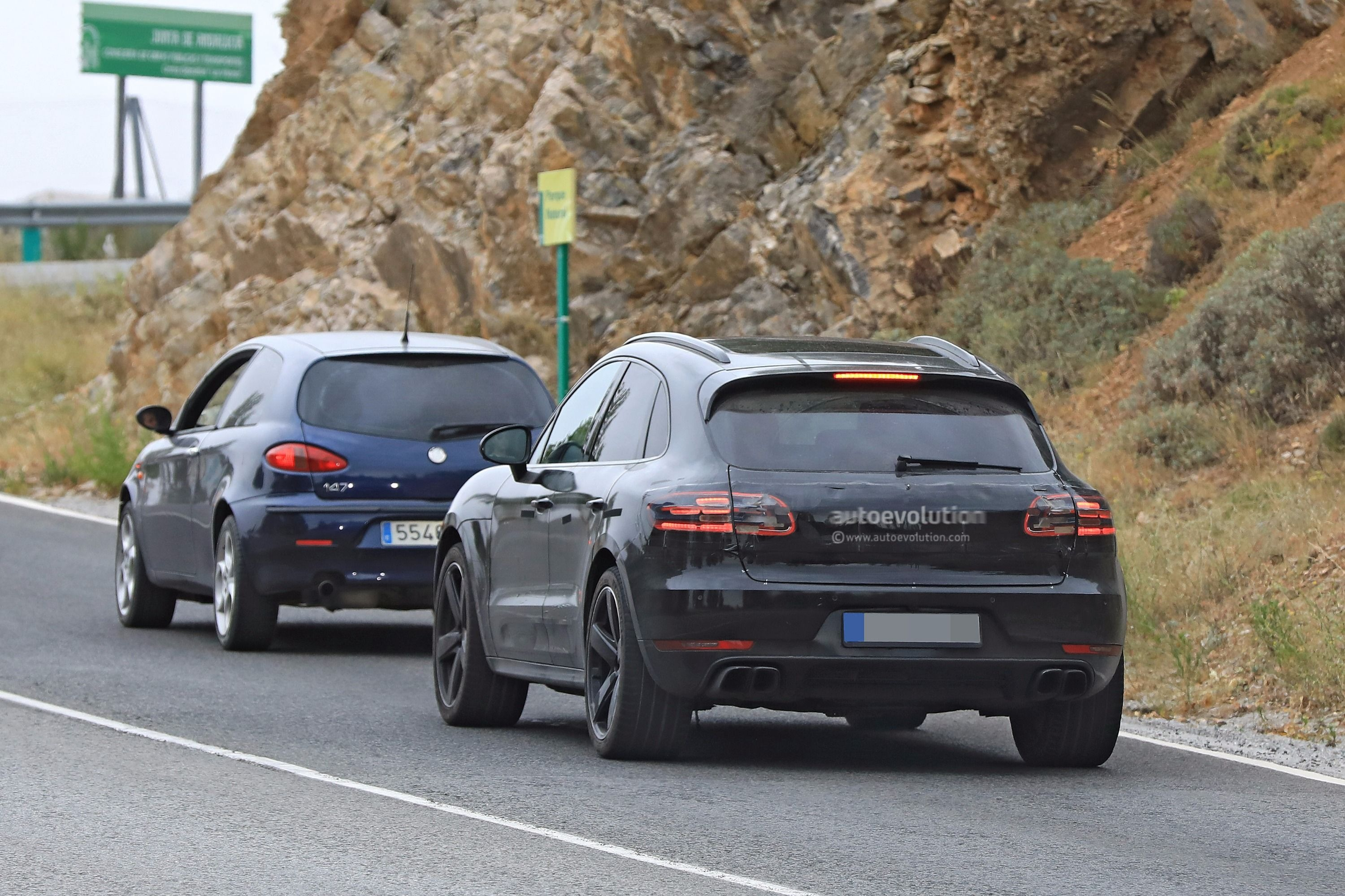 Porsche Cayenne Redesign >> Spyshots: 2019 Porsche Macan Prototype Poses For The Camera - autoevolution