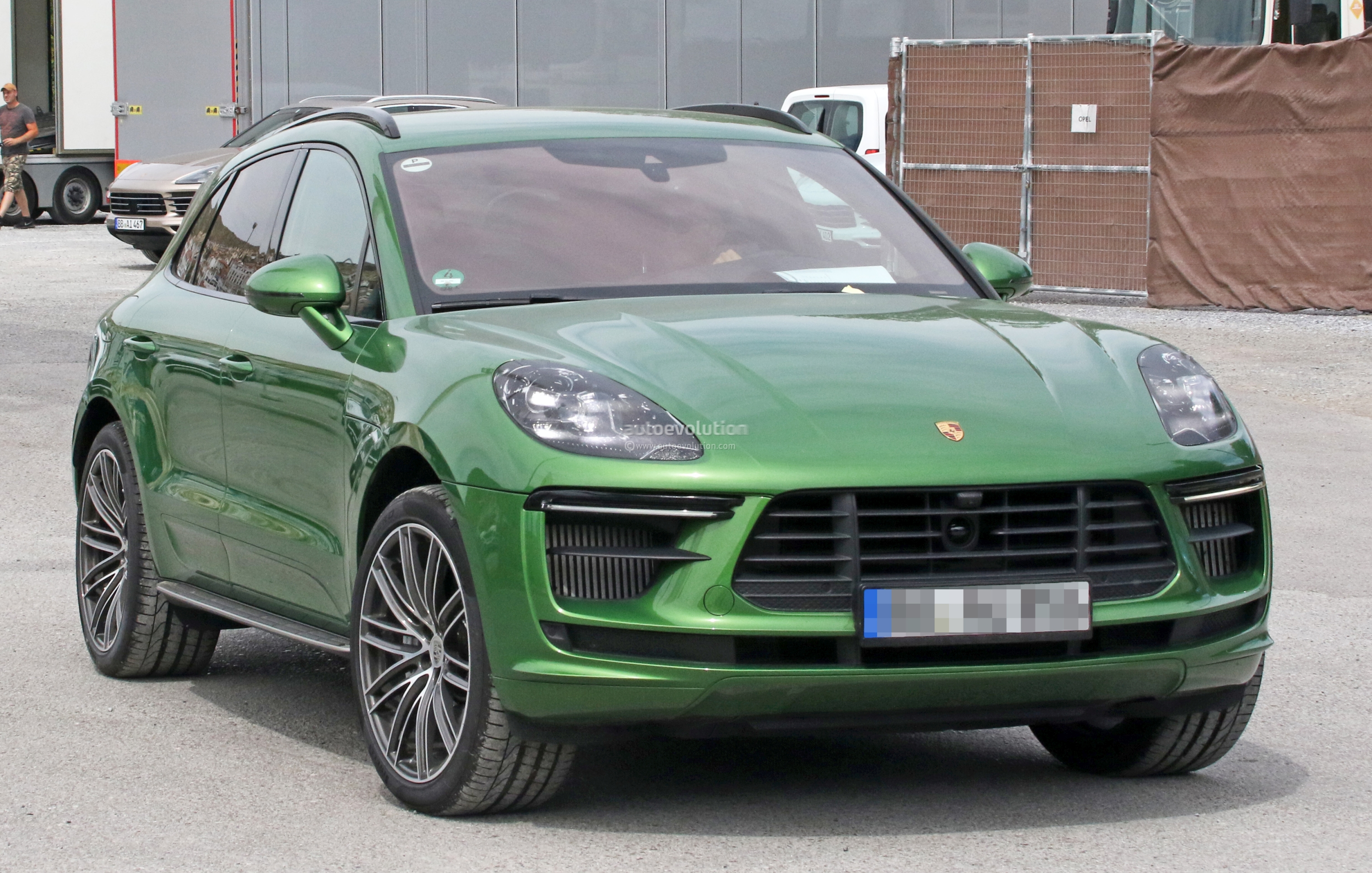 2019 Porsche Macan Turbo Spied Gets Closer To Production