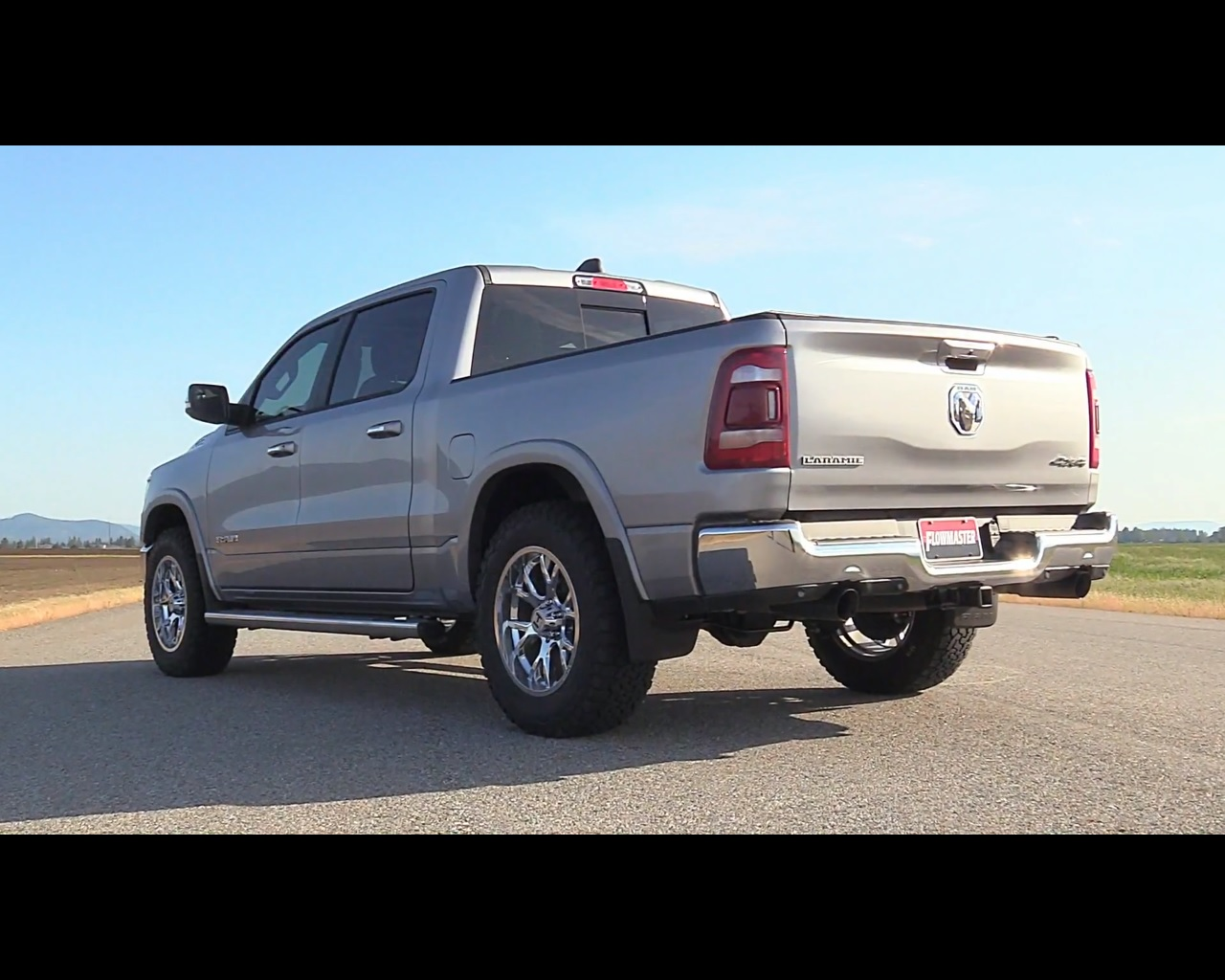 Ram 1500 Exhaust >> 2019 Ram 1500 Sounds Great With Flowmaster Cat Back Exhaust