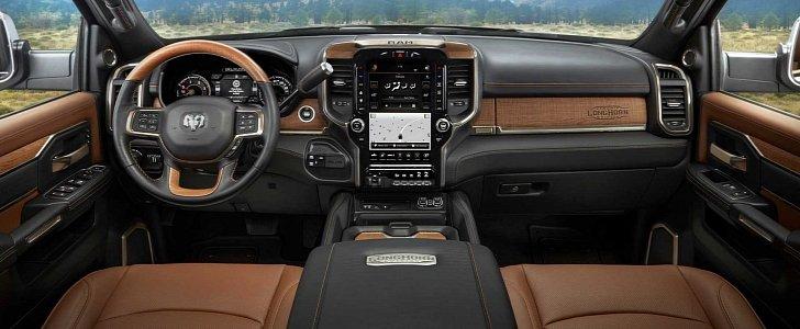 Ram Long Horn >> 2019 Ram HD Laramie Longhorn Features Real Wood, Leather, Steel Trim - autoevolution