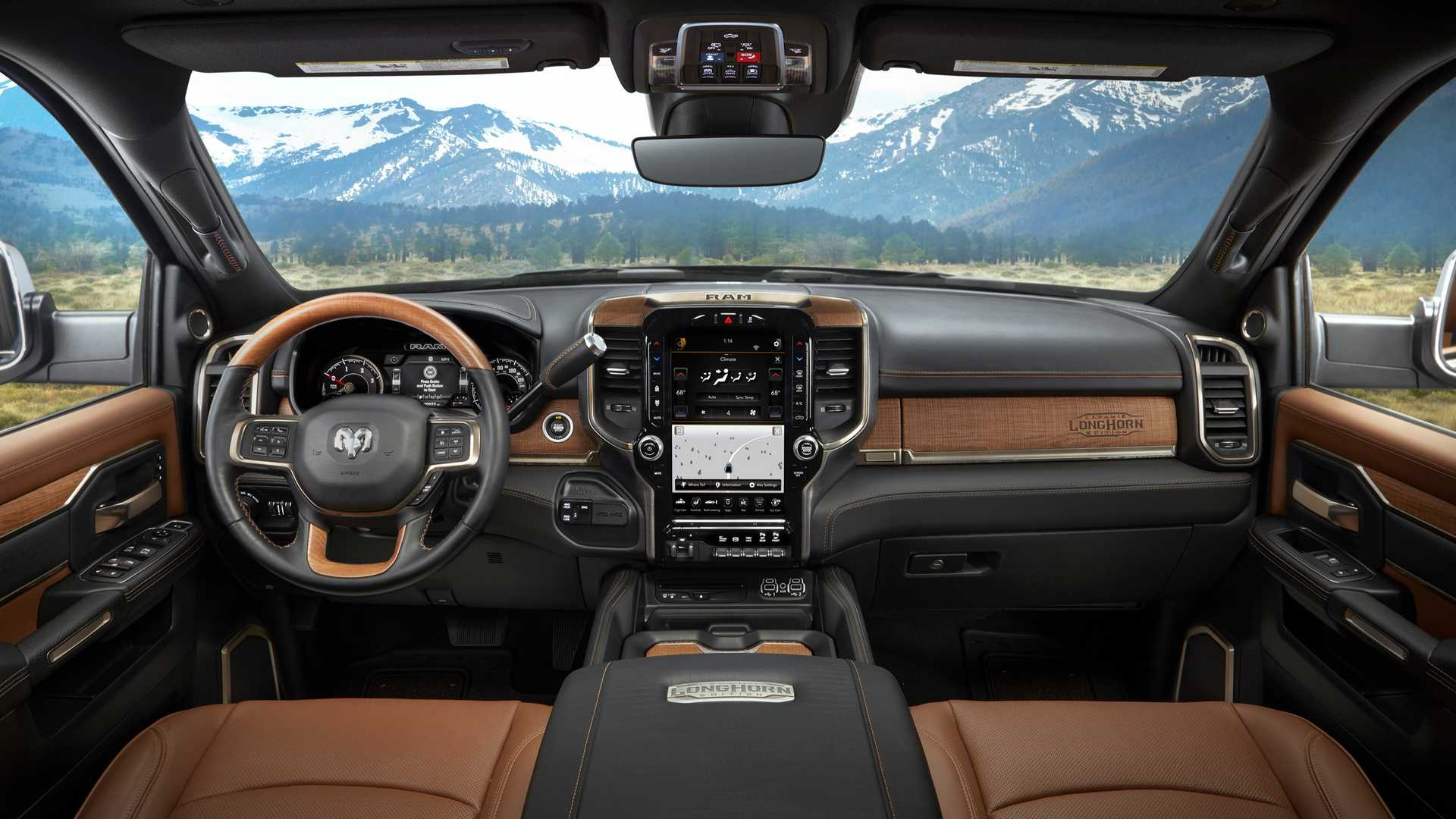 2019 Ram HD Laramie Longhorn Features Real Wood, Leather ...