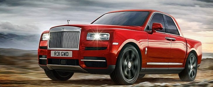 2019 Rolls Royce Cullinan Rendered In Entry Level Trim