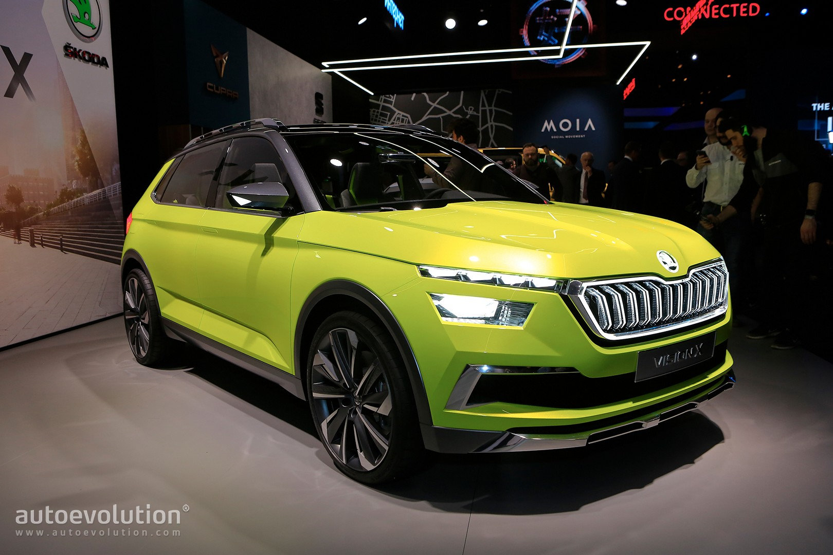 2019 skoda small suv previewed by vision x concept rides on new rapid platform autoevolution. Black Bedroom Furniture Sets. Home Design Ideas