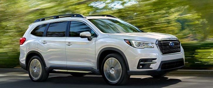 2019 Subaru Ascent Looks Like a Rival for the Honda Pilot - autoevolution