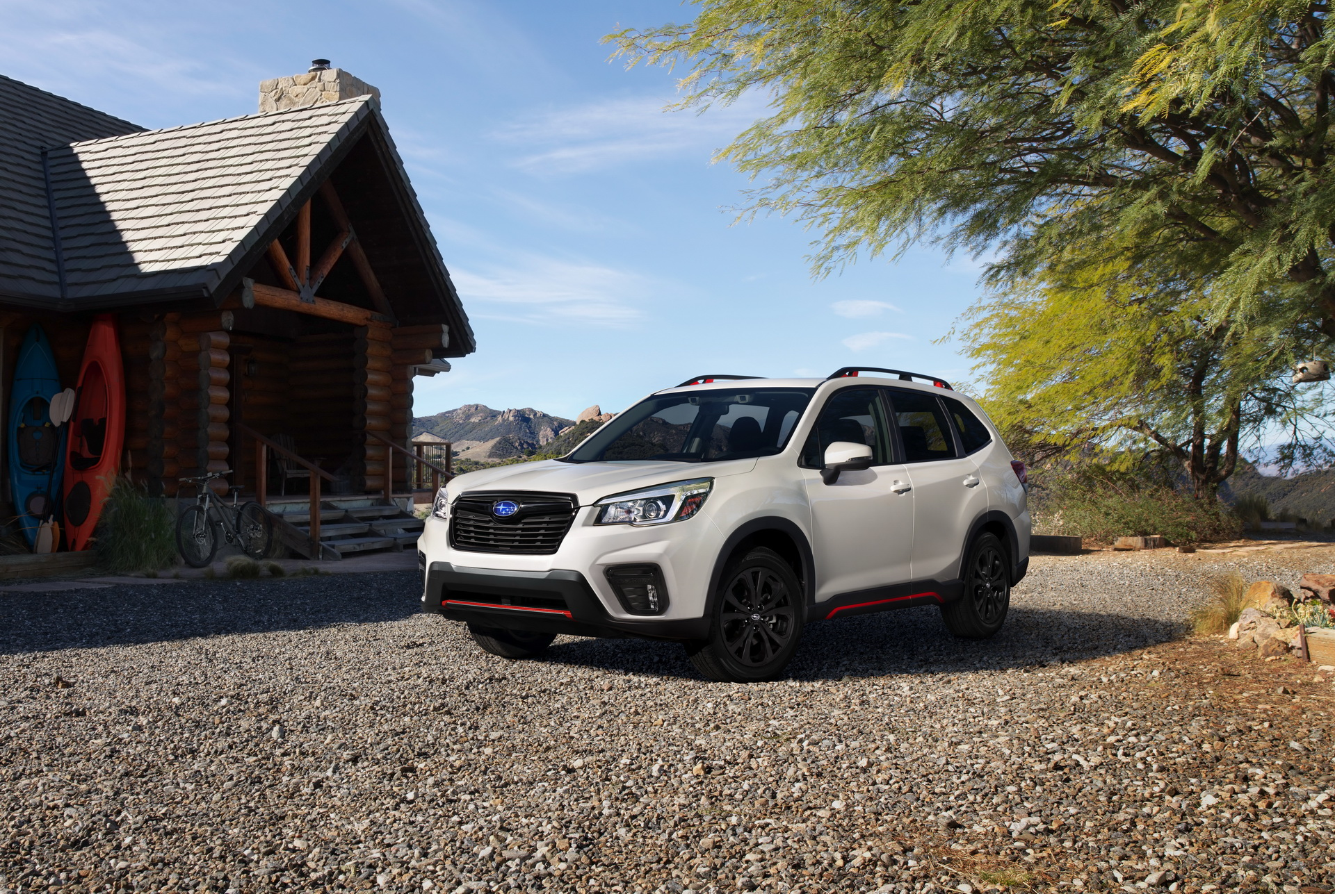Subaru showed the Forester crossover optics of the new generation
