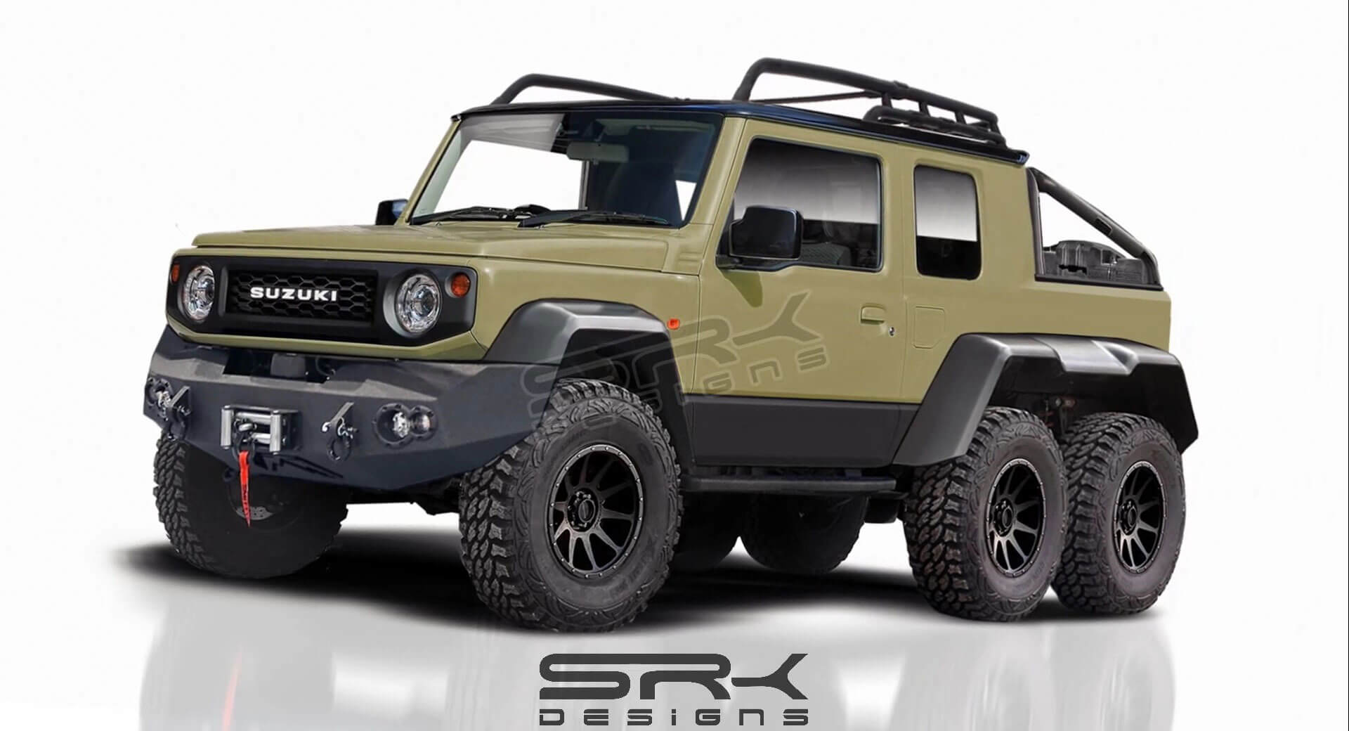 Etwas Neues genug 2019 Suzuki Jimny 6x6 Pickup Truck Isn't Real, But It Should Be @SL_23