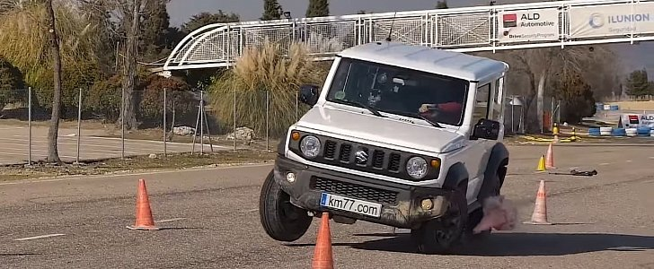 2019 Suzuki Jimny Moose Test: It's Bad, It's Very Bad