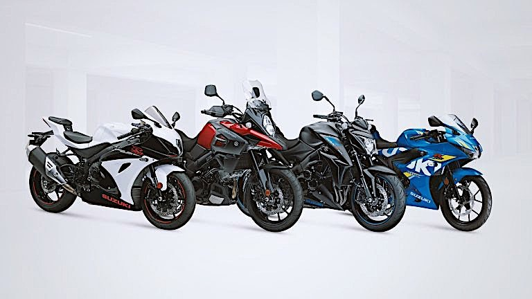 2019 Suzuki Motorcycles Shine in New Colors at the Motorcycle Live