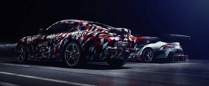 2019 Toyota Supra Teased Alongside GR Supra Racing Concept ...