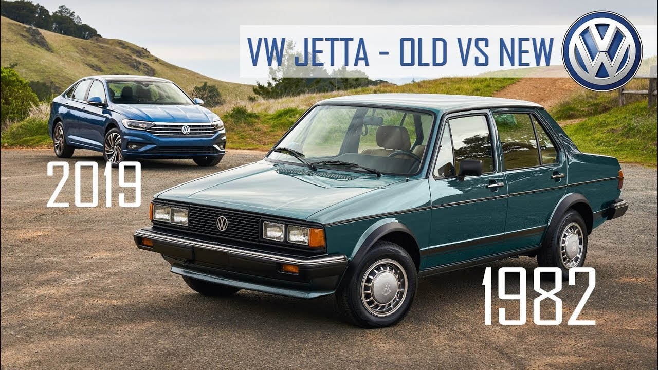 2019 Volkswagen Jetta Meets The 1982 Original