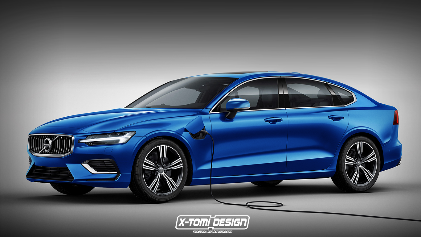 2019 volvo s60 sedan rendering should be accurate autoevolution. Black Bedroom Furniture Sets. Home Design Ideas