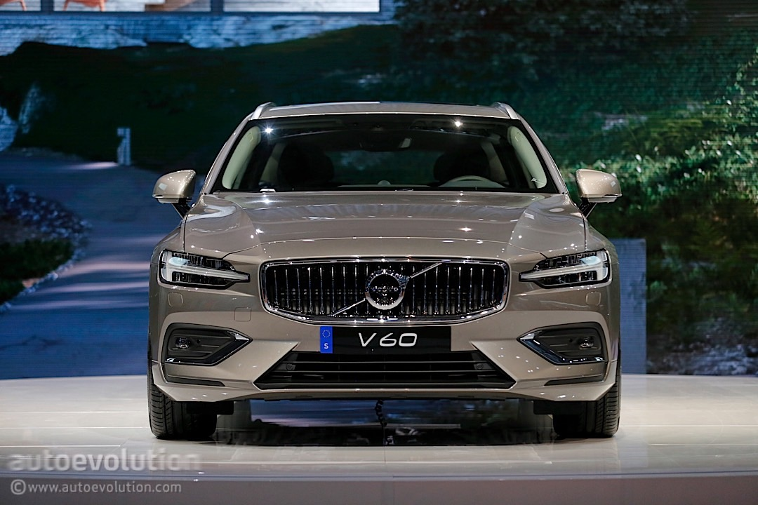 2019 Volvo V60 Steals The Unofficial Title Of Best Looking Wagon In Geneva Autoevolution