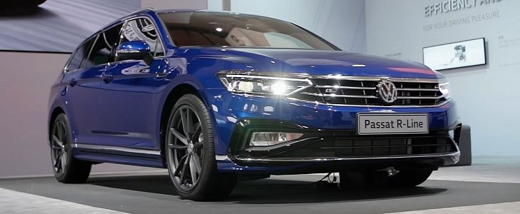 2019 VW Passat B8 Facelift Gets Detailed Walkaround Video: Inside and Out