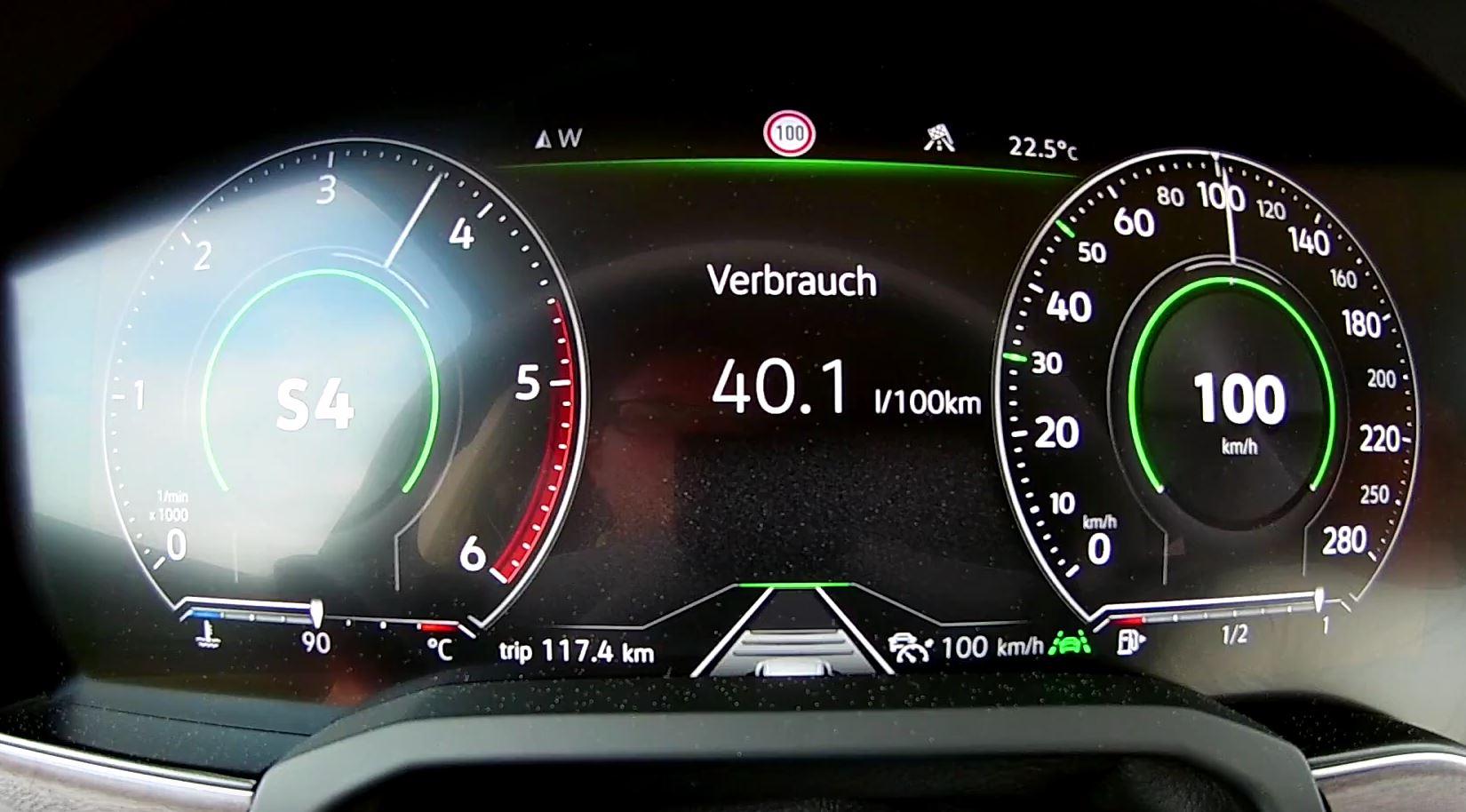 2019 Vw Touareg 30 V6 Tdi 286 Hp Does The 0 To 100 Kmh Sprint