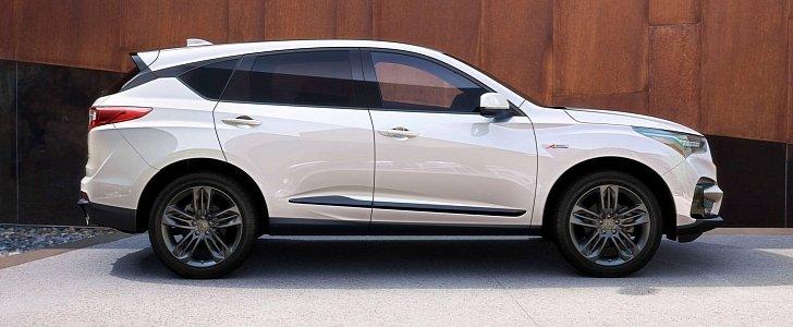 Acura Rdx Adds Platinum White Exterior Color on Acura Rdx