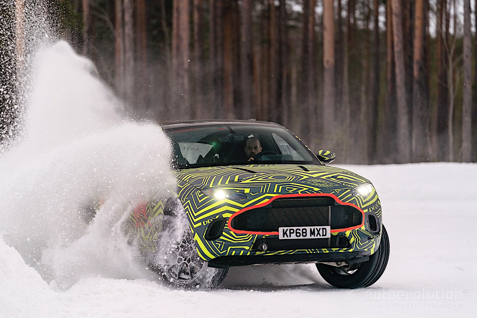 2020 Aston Martin DBX: Design, Powertrains, Arrival >> 2020 Aston Martin Dbx Shown Drifting On Snow In Official