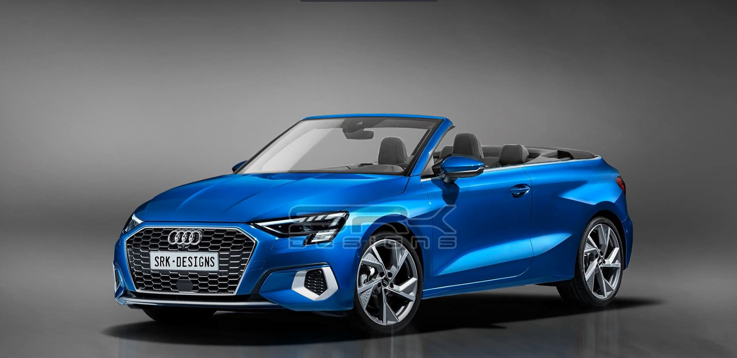 2020 audi a3 cabriolet accurately rendered  looks just right