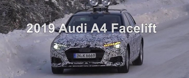 2020 Audi A4 Facelift Flashes New LEDs, Shows Real Dual Exhaust