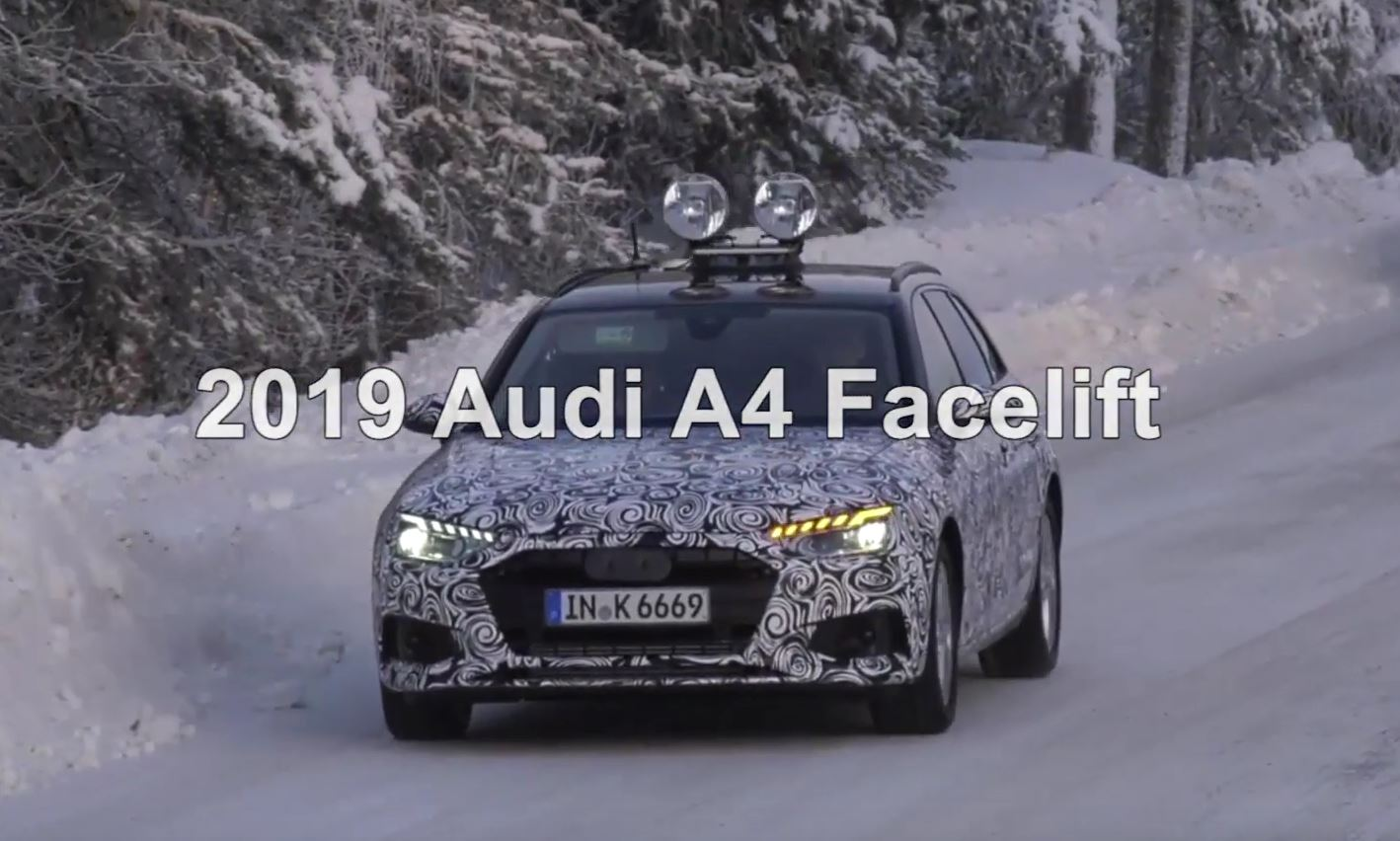2020 Audi A4 Facelift Flashes New Leds Shows Real Dual