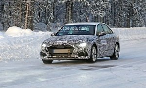 2020 Audi A4 Sedan Spied With A6-Inspired Design