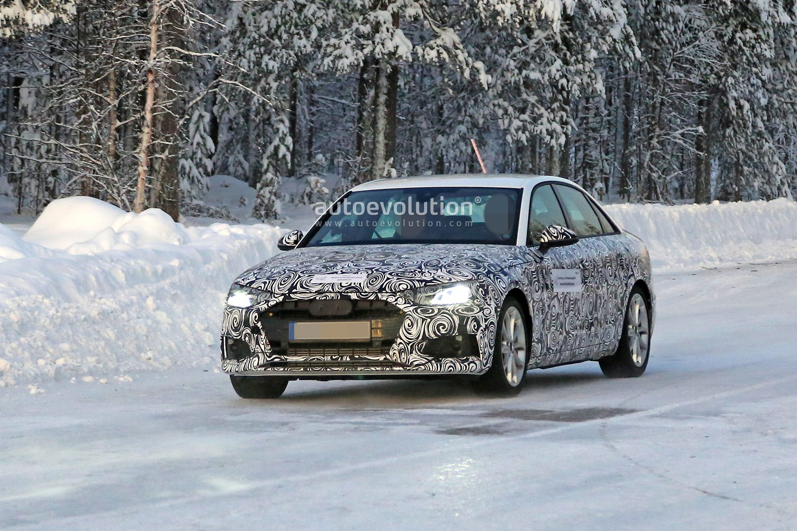 2020 Audi A4 Sedan Spied With A6 Inspired Design Autoevolution