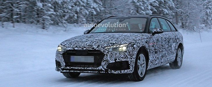 2020 Audi A4 Spied, Getting New Facelift Worth Half a Billion Euros