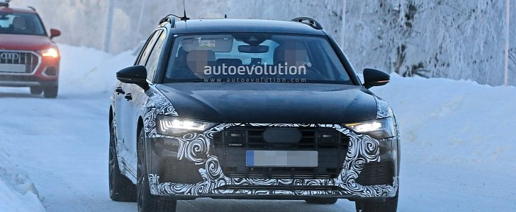 2020 Audi A6 Allroad Spied In Scandinavia Is The Anti Suv Autoevolution