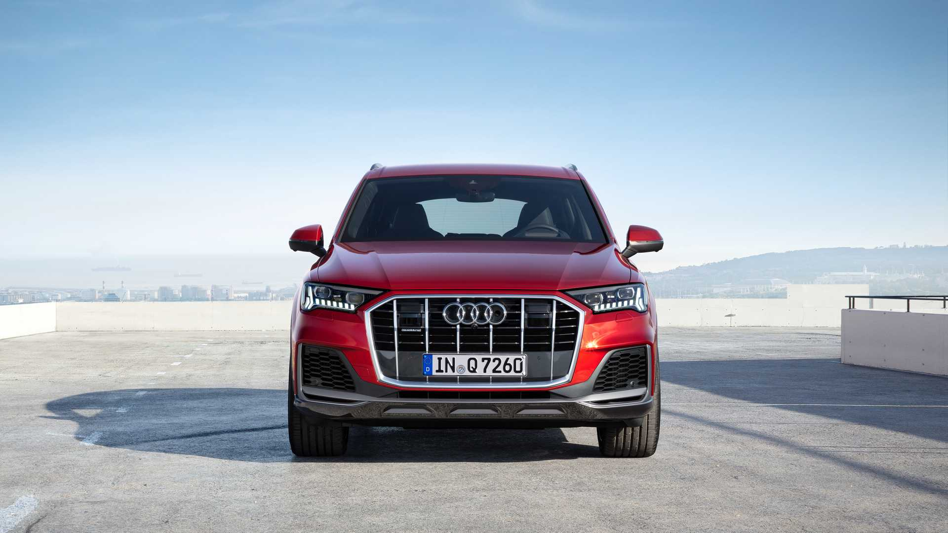 2020 Audi Q7 Facelift Looks Way More Rugged Borrows Screens From Q8 Autoevolution