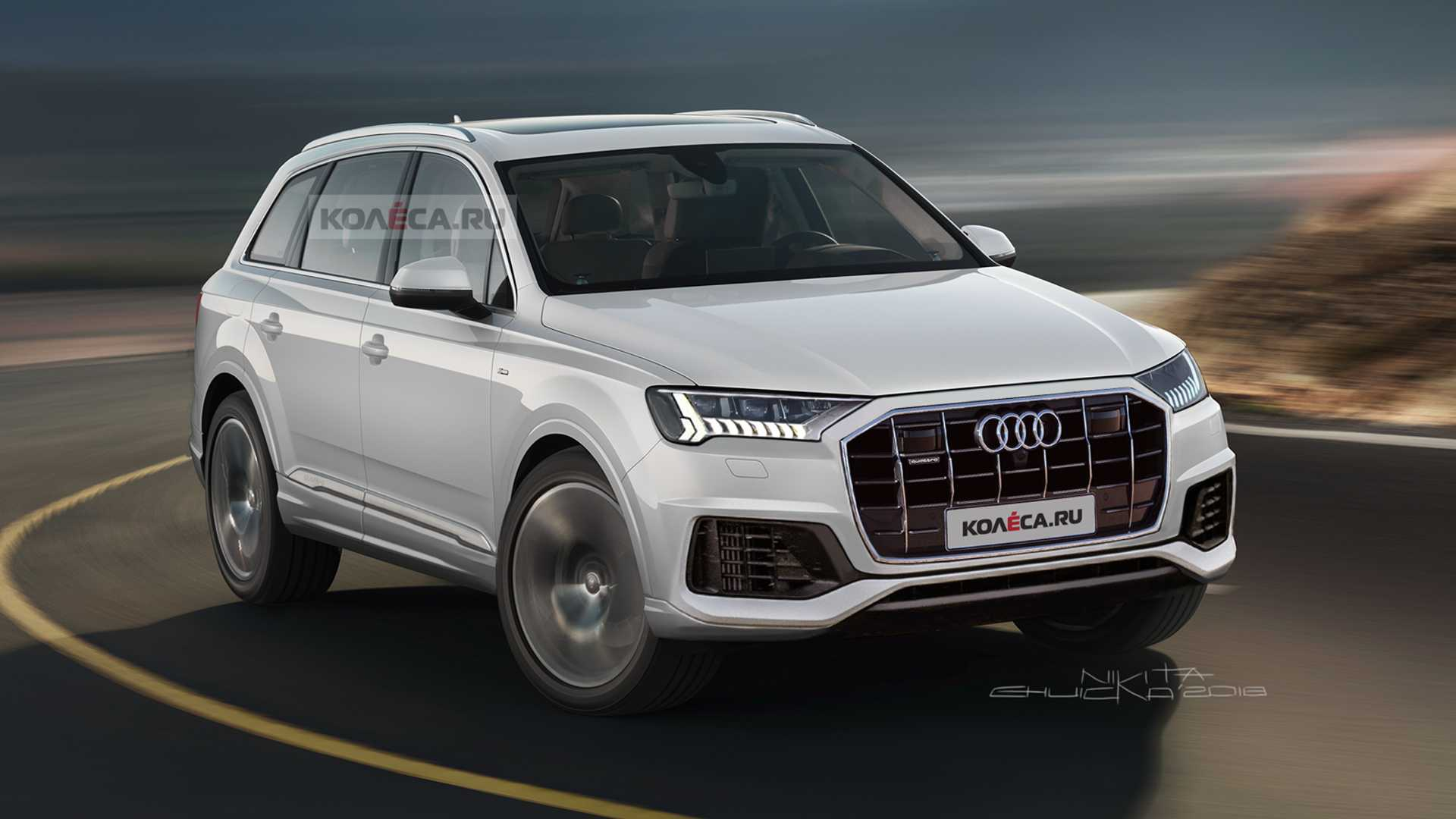 2020 Audi Q7 Facelift Should Look Like This Autoevolution