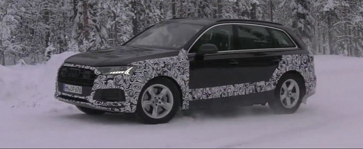 2020 Audi Q7 Facelift Shows LED Abundance, New Face in Arctic Spy Video